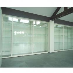 Maatwerk vitrinekast 240 x 600 x 40