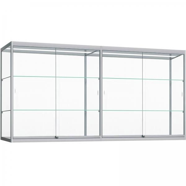 Wand Vitrinekast met ledverlichting 100 x 280 x 30