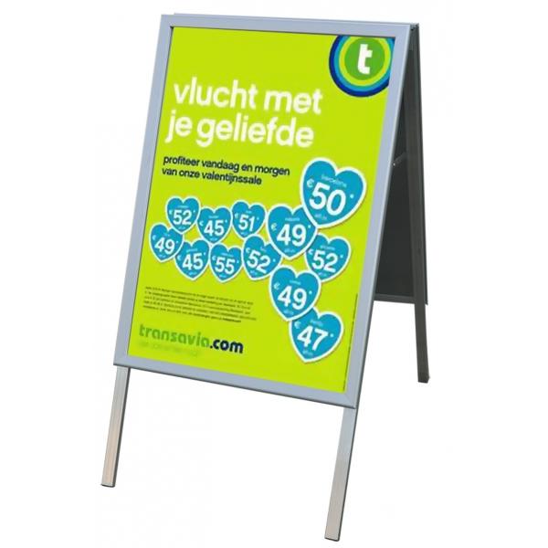 Posterbord met klikrand 500  x  700