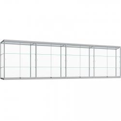Hang Vitrinekast met ledverlichting 120 x 400 x 30