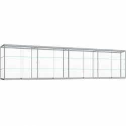 hang Vitrinekast met ledverlichting 120 x 480 x 30