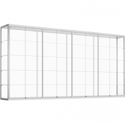 Vitrinekast 200 x 400 x 60