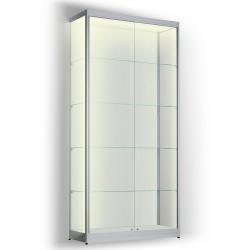 Led vitrinekast 200 x 80 x 20