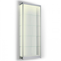 Led vitrinekast 200 x 60 x 20