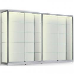 LED vitrinekast 200 x 320 x 20