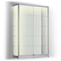LED vitrinekast 200 x 120 x 30