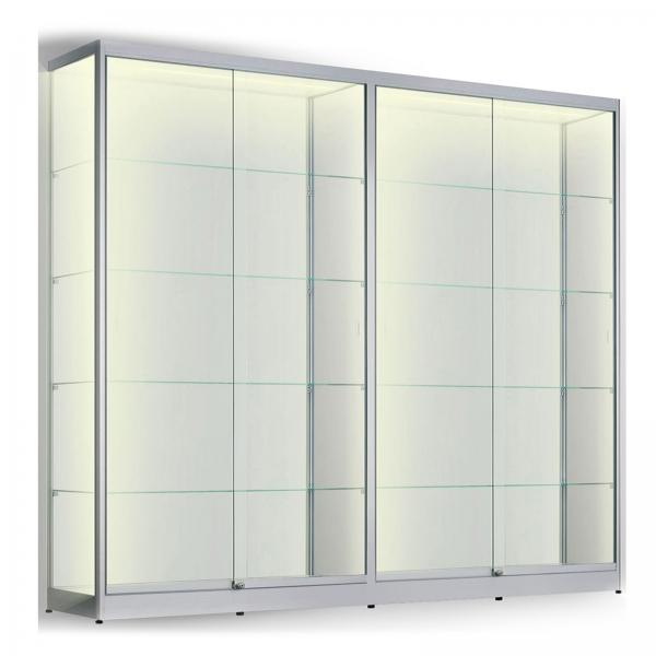 LED vitrinekast 200 x 200 x 30
