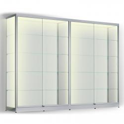 LED vitrinekast 200 x 280 x 30