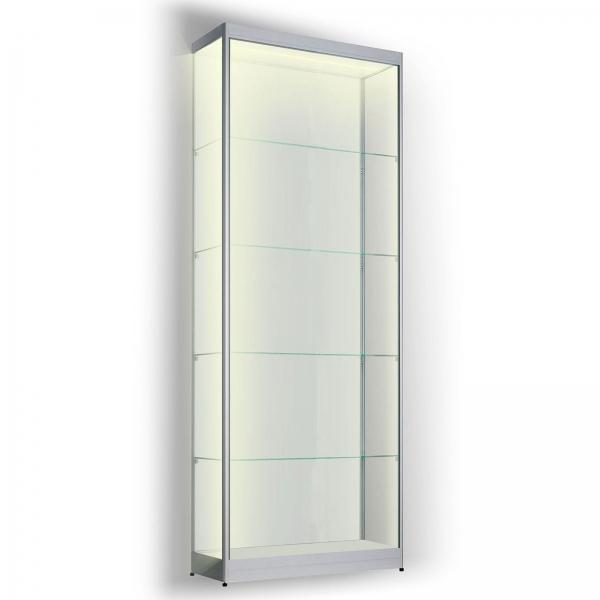 Led vitrinekast 200 x 60 x 40