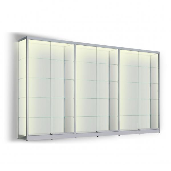 LED vitrinekast 200 x 360 x 20