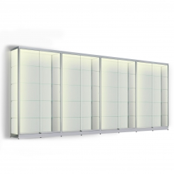LED vitrinekast 200 x 400 x 20
