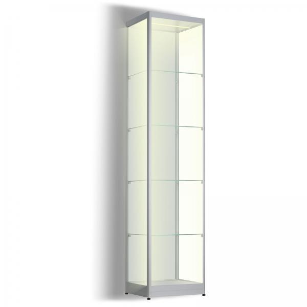 Led vitrinekast 200 x 40 x 40