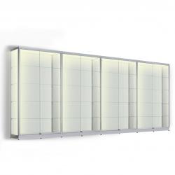 LED vitrinekast 200 x 400 x 40