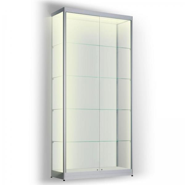 Led vitrinekast 200 x 80 x 50