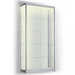 LED vitrinekast 200 x 90 x 50