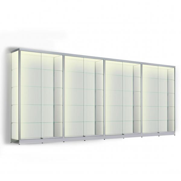 LED vitrinekast 200 x 400 x 50