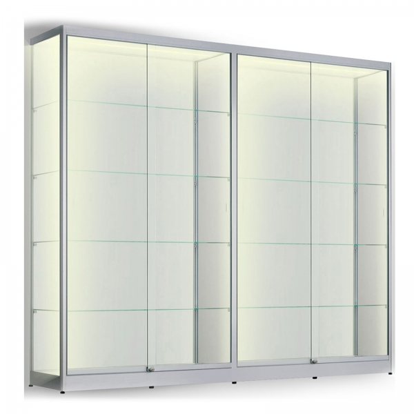 LED vitrinekast 200 x 200 x 60