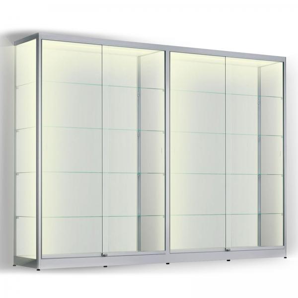 LED vitrinekast 200 x 280 x 60