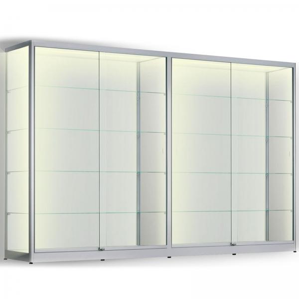 LED vitrinekast 200 x 320 x 60