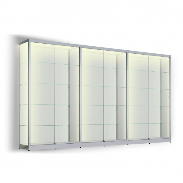 LED vitrinekast 200 x 360 x 60