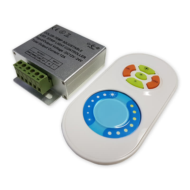 LED dimmer vitrinekast